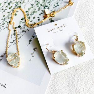 kate spade Jewelry - ❗️LAST ONE❗️Kate Spade Stone Pendant Necklace